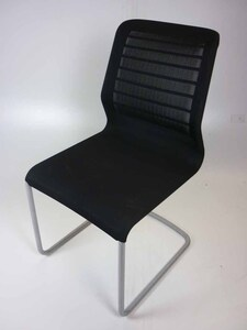 additional images for Black Senator Fuse mesh meeting chair