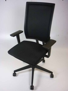 additional images for Bene B_Run black mesh back task chairs