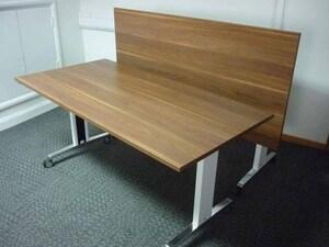 additional images for Walnut Sedus Brainstorm 1600x800mm flip top tables