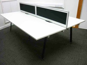 additional images for Herman Miller Abak white 1200 & 1400mm bench and single desks
