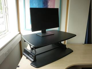 Varidesk Pro 30 Sit Stand desk adapter