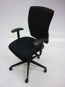 additional images for Black Orangebox Go task chair with arms