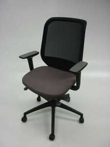 additional images for Orangebox Joy grey mesh back task chairs