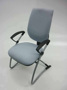 additional images for Light grey Gresham Move Up cantilever armchair