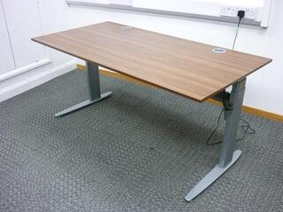 Conset electric sitstand desks with choice of tops