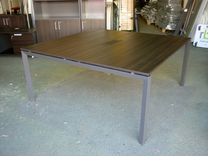 additional images for 1600x1650mm wenge meeting table