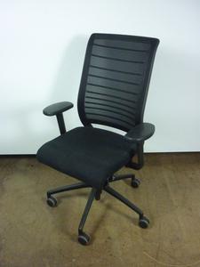 additional images for Black Interstuhl Hero 172 mesh back task chair