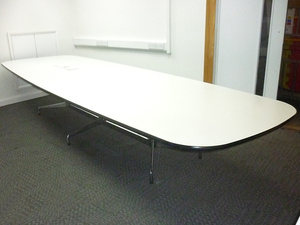 additional images for 4200mm white Vitra Eames Segmented boardroom table