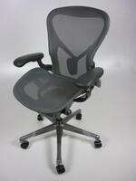 additional images for Herman Miller Aeron Remastered Chairs, from