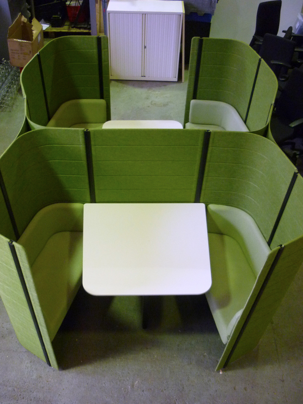 additional images for Green double Vitra Workbay