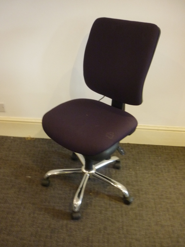 additional images for Purple DS Ergonomic task chair