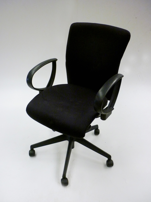 additional images for Black Orangebox Go chair with loop arms