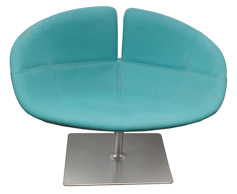 additional images for Moroso Fjord low back chair aqua