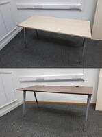 additional images for Herman Miller Abak frame with silver legs