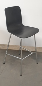 additional images for Graphite Vitra Hal Stool