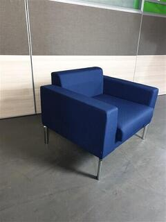 Genuine Boss Royal Blue Chair