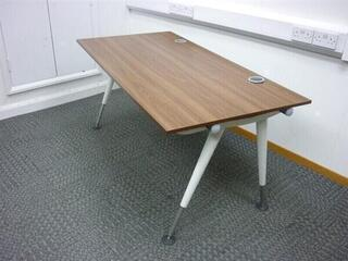 Herman Miller Abak Bench System White Height Adjustable