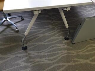 Vitra Ad Hoc White Desk