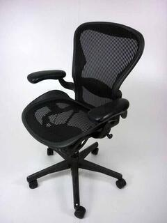 Herman Miller Aeron 2 lever fixed arms Size C