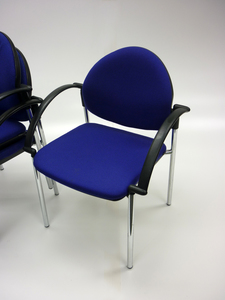 additional images for Verco Focus blue stacking conference/meeting chairs