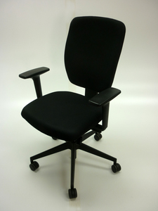 additional images for Black Senator Dash task chair with arms (CE)