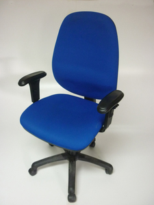 additional images for Royal blue high back task chair