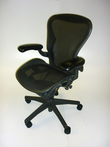 additional images for Herman Miller graphite Aeron task chair CE
