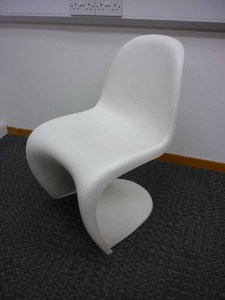 additional images for Vitra Panton white chairs