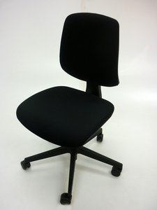 additional images for AS NEW Black Nomique Tally 2 operator chairs no arms