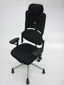 additional images for Black Steelcase Please V1 Task Chairs with headrest