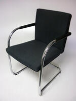 additional images for Vitra Visasoft blue stacking chairs