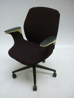 additional images for Vitra Worknest brown task chairs