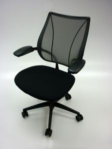 additional images for Black mesh back Humanscale Liberty task chair