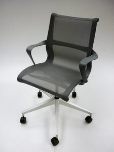additional images for Graphite Herman Miller Setu task chair