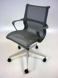 additional images for Carbon Herman Miller Setu chairs