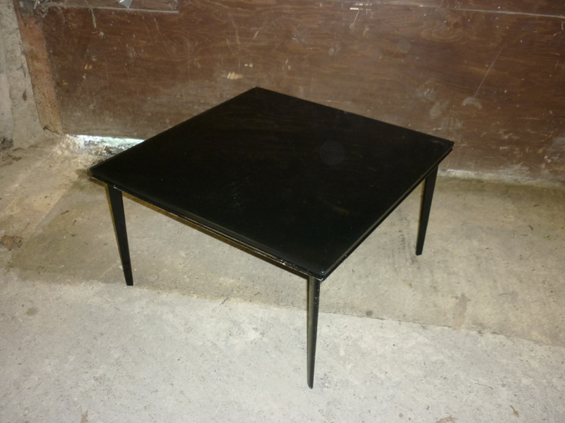 additional images for 700x700mm black Walter Knoll Jaan 780 coffee table