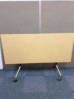 additional images for Oak flip top table Black/Steel Frame