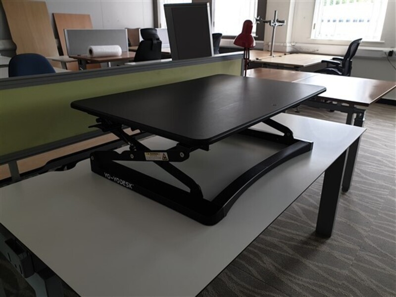 additional images for Yo-Yo Desk Classic 90 Sit Stand Adjustable Rise Desk
