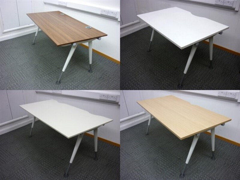 additional images for Herman Miller Abak Bench System White Height Adjustable