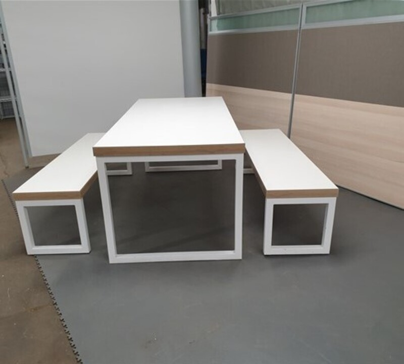additional images for Table and bench set