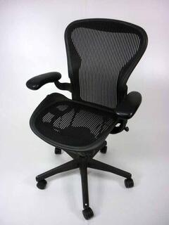 additional images for Herman Miller Aeron 2 lever fixed arms Size A