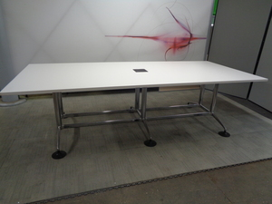 additional images for White Boardroom Table