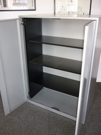 additional images for Triumph 1380mm high silver cupboards