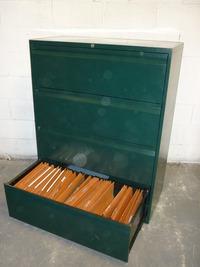 additional images for Bisley 4 drawer side filer