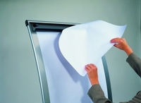 additional images for Legamaster mobile flipchart,paper roll easel