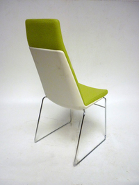 additional images for Allermuir CF2 Confer lime green high back chair (CE)