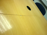 additional images for 3000 x 1000mm beech veneer rectangular table