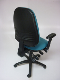 additional images for Aqua green high back task chair   (CE)