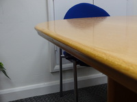 additional images for 2400 x 1200mm Aerofoil boardroom table