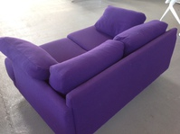 additional images for Purple two seater sofa  (CE)